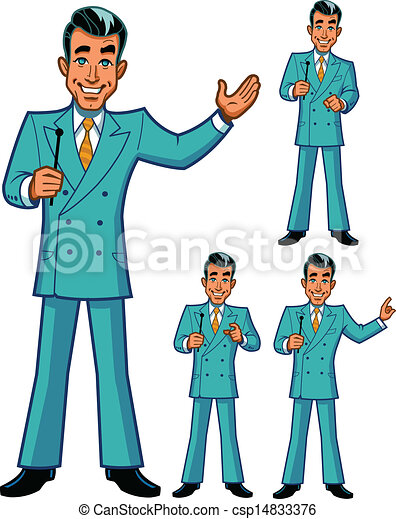 Game Show Host Poses
