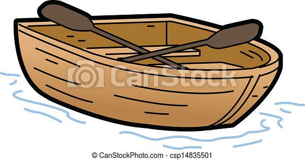 Vector Clipart Of Rowboat Illustration Csp14835501 Search Illustration Drawings And Eps