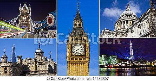 London Landmarks - csp14838307
