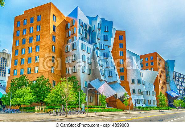 Stock fotografie von ikonisch postmodern architektur for 3 schichten architektur