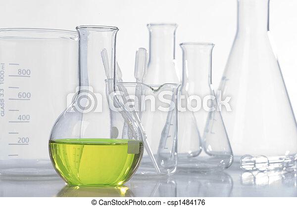 Glass laboratory equipment - csp1484176