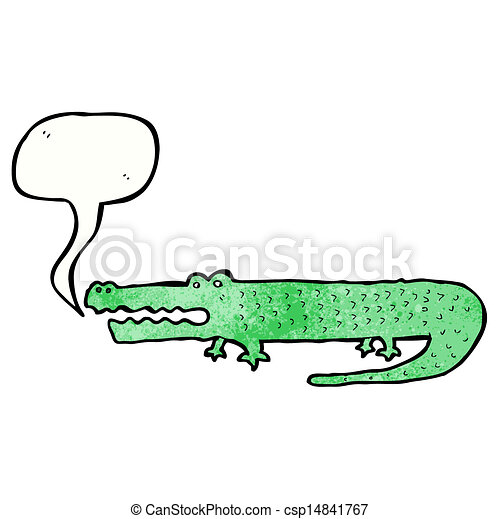 Vecteur dessin anim crocodile banque d 39 illustrations illustrations libres de droits - Dessin anime crocodile ...