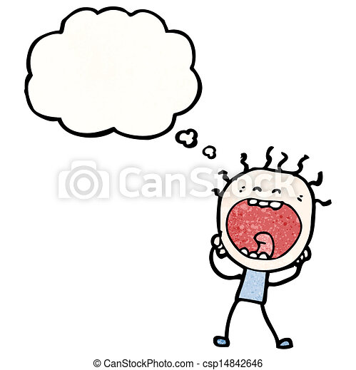 EPS Vector of stressed out man cartoon csp14842646 ...