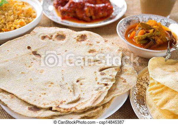 Indian food - csp14845387