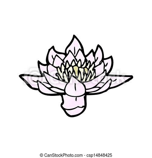 Illustration vecteur de n nuphar dessin anim csp14848425 recherchez des images graphiques - Nenuphar dessin ...