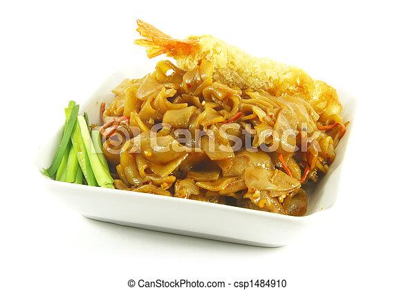 Stir Fried Asian Style Noodles - csp1484910