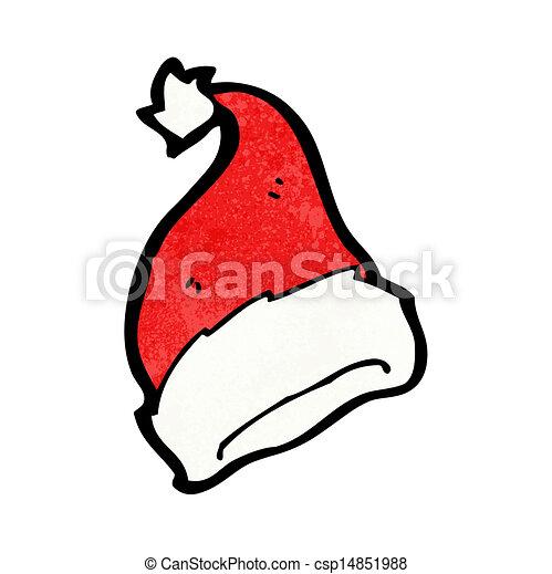 Vector of cartoon santa claus hat csp14851988 - Search Clip Art ...