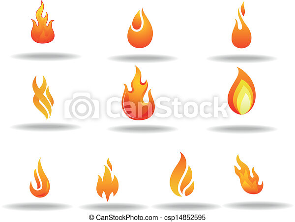vetor eps de fogo logotipo vetorial ilustra231227o fogo