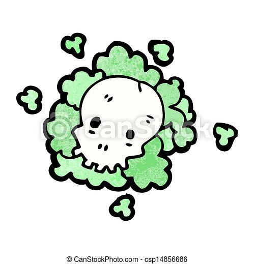 Cloud Cartoon Drawing Cartoon Death Gas Cloud