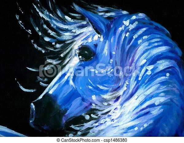Horse - csp1486380