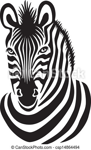 Gallery images and information: Zebra Face Clipart