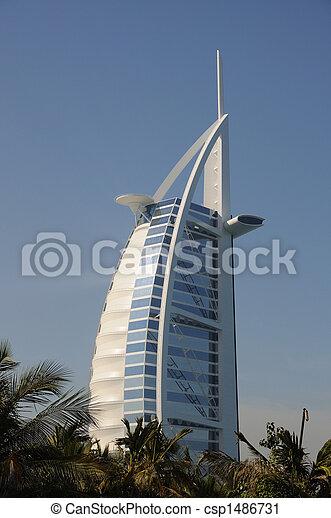 Burj Al Arab, Dubai - csp1486731