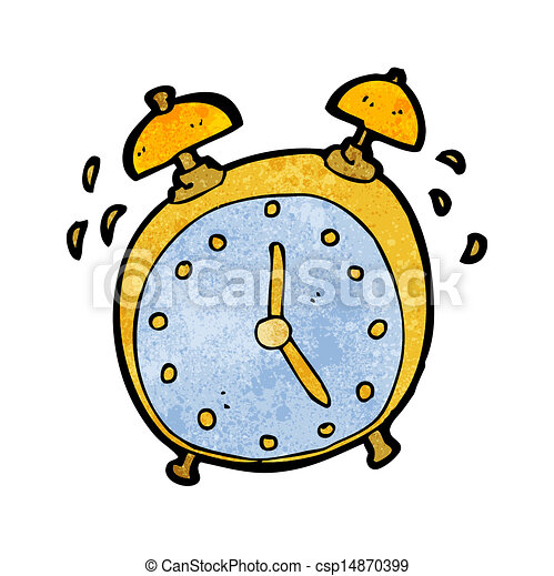 EPS Vectors of ringing alarm clock cartoon csp14870399 ...