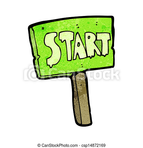 Clip Art Start Clipart start sign illustrations and clipart 50260 royalty cartoon race sign