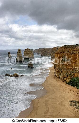 Shipwreck coast - csp1487852