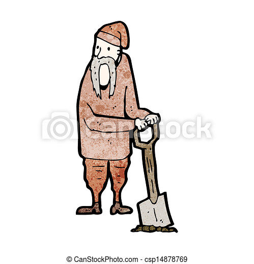 Medieval Serf Drawing