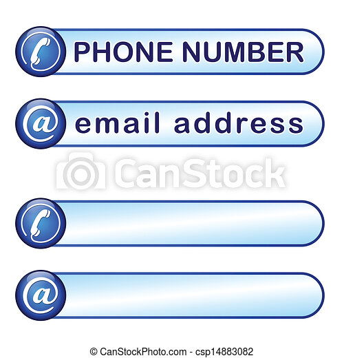 Vector de caja tel fono correo direcci n caja para for Telefono oficina de correos