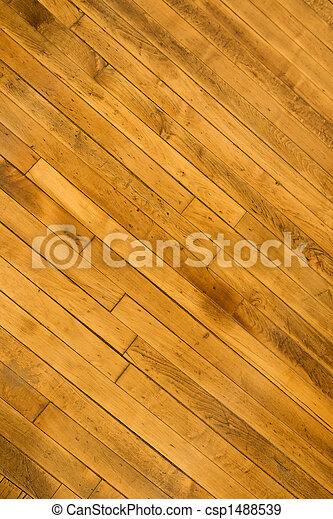 Hardwood floor. - csp1488539