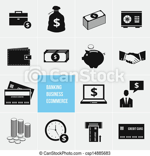 Business Ecommerce Banking and Fina - csp14885683