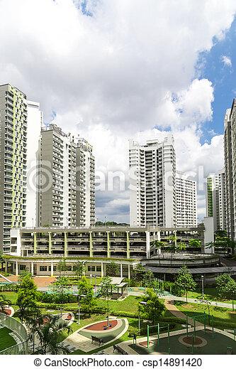 Residential estate - csp14891420