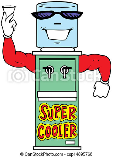 water cooler vector illustration - csp14895768