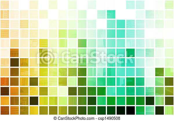 Colorful Simplistic and Minimalist Abstract - csp1490508