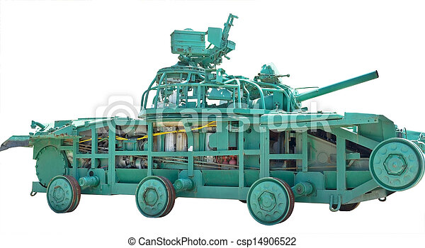 educational layout of tank - csp14906522