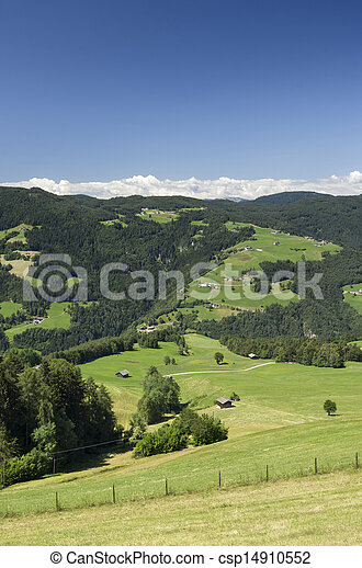 Rural Landscape in South Tyrol (Bolzano) - csp14910552