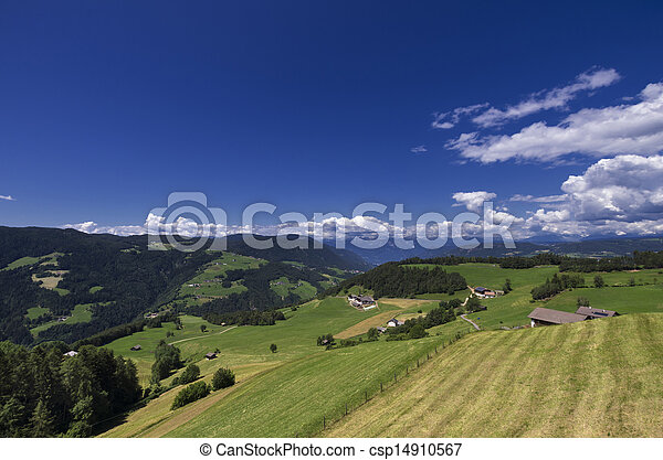 Rural Landscape in South Tyrol (Bolzano) - csp14910567