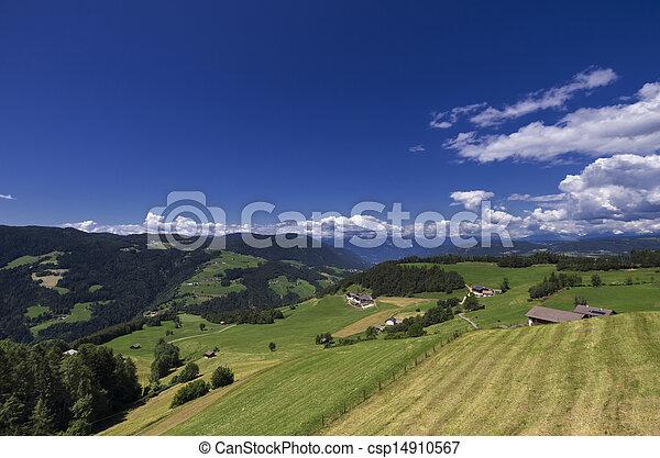 Rural Landscape in South Tyrol (Bolzano) - csp14910567