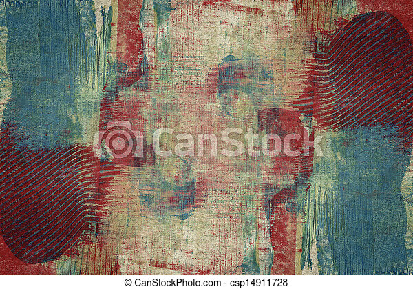 Designed abstract art background - csp14911728