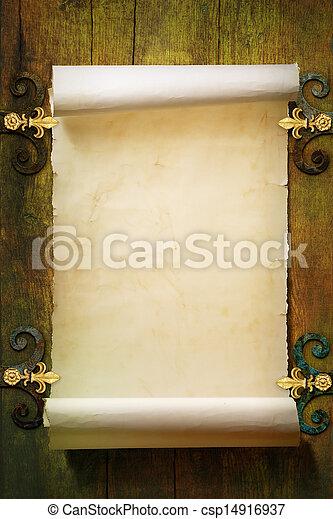 stein, Kunst, mittelalterlich, fantasie, gotische, hintergrund - csp14916937