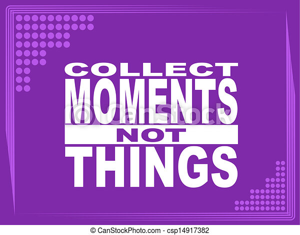 Collect moments - csp14917382