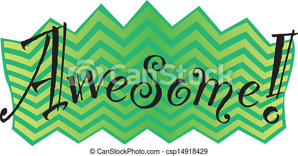Clip Art Awesome Clip Art awesome illustrations and clip art 8001 royalty free in black green the word awesome