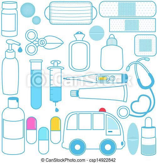 Equipment Drawing Pills Medical Equipment