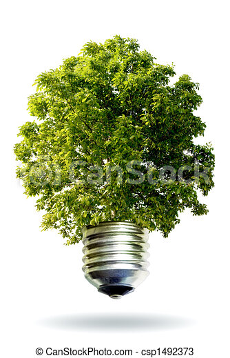 Renovable, energía, concepto - csp1492373