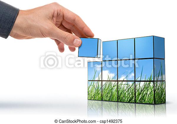 eco thinking - csp1492375