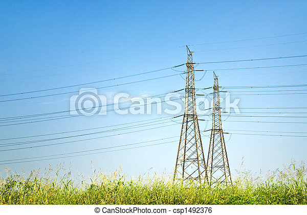 electricity pylon - csp1492376