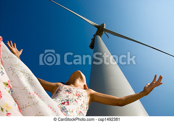 clean energy for the children's future - csp1492381