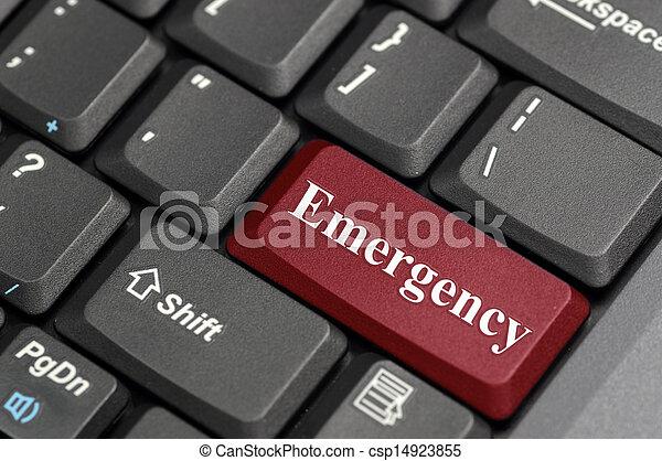 Emergency on keyboard - csp14923855