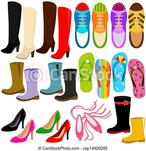 Cartoon Shoe Heel