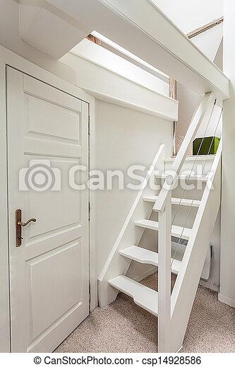 images de manoir vendange grenier escalier vintage manoir csp14928586. Black Bedroom Furniture Sets. Home Design Ideas