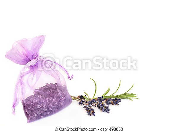 Lavender Herb and Fragrance Beads - csp1493058