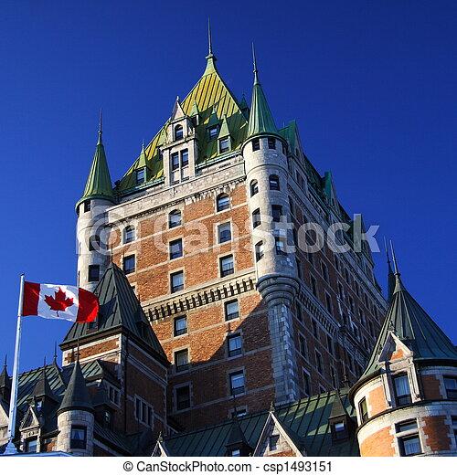 Quebec City landmark - csp1493151