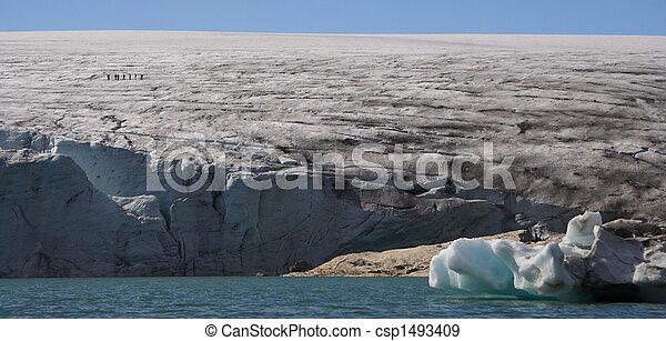 Glacier hiking / Jostedal glacier national park - csp1493409