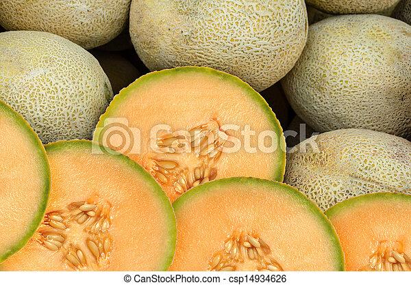 Cantaloupe Melon - csp14934626