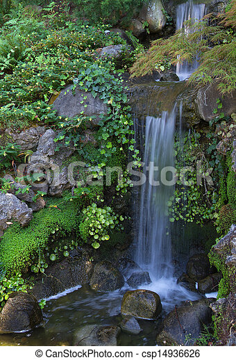 Small waterfall - csp14936626