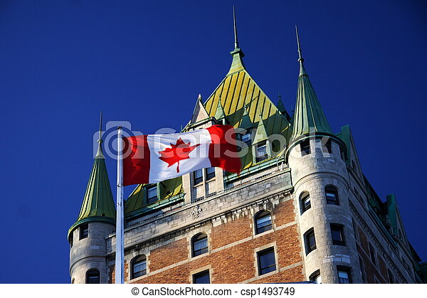 Quebec City landmark - csp1493749