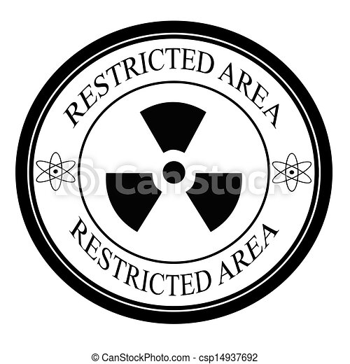 EPS Vectors of Restricted area - Stamp with text restricted area ...