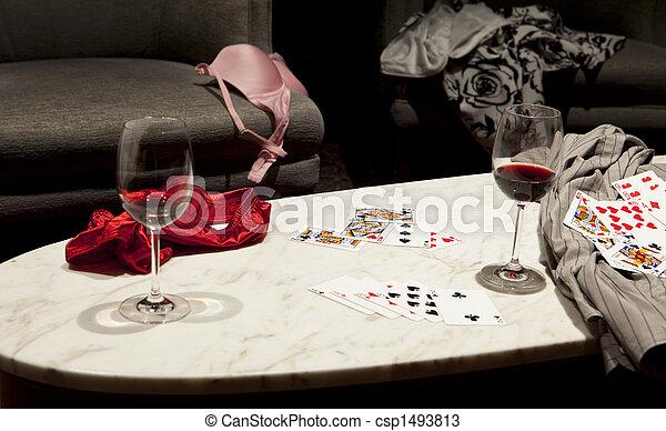 Losing At Strip Poker - csp1493813